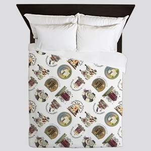 PRETTY PRIM Queen Duvet