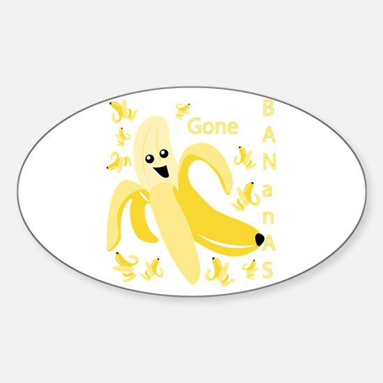 Gone Banana Decal