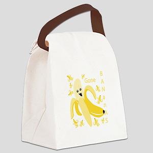 Gone Banana Canvas Lunch Bag