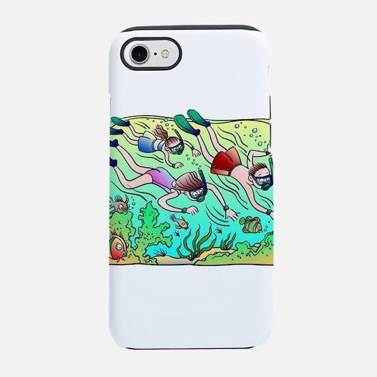 Scuba Divers iPhone 7 Tough Case