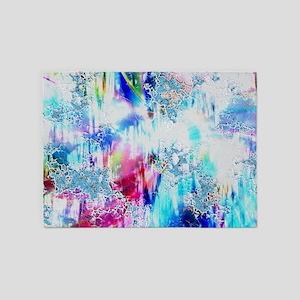 Abstract Life 5'x7'Area Rug