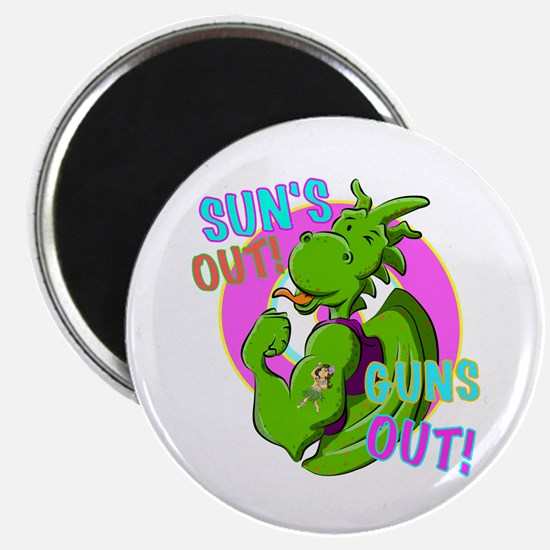Dragon Suns Out Guns Out Magnets