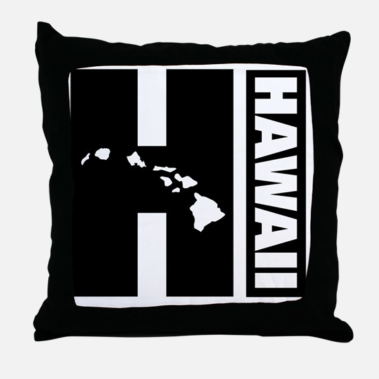 Unique Hawaii Throw Pillow