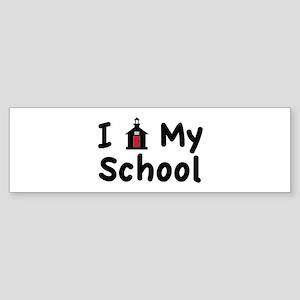 My School Bumper Sticker
