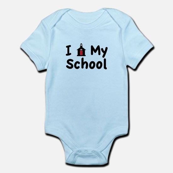 My School Body Suit