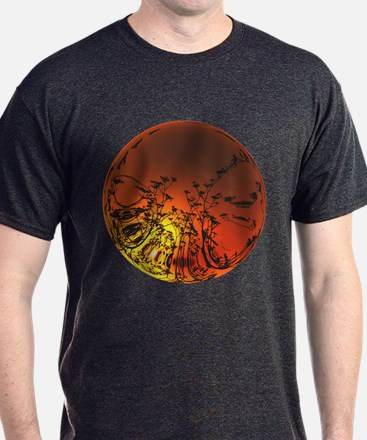 Australian Sunset Bubble T-Shirt