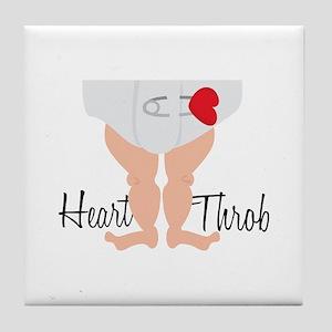 Heart Throb Tile Coaster