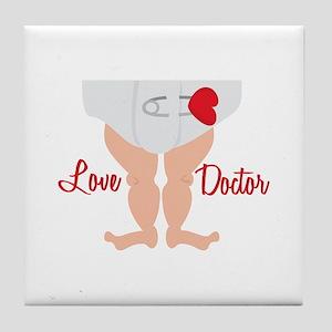 Love Doctor Tile Coaster