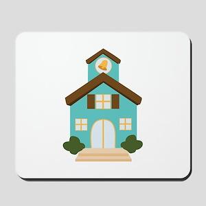 School Building Mousepad