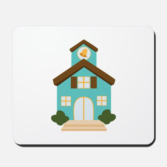 School Building Mousepad
