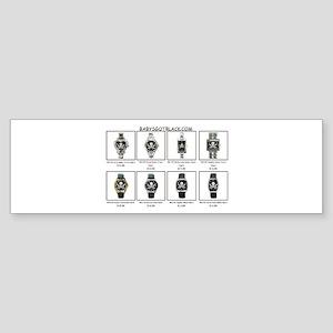 PIRATE WATCH CATALOG Bumper Sticker