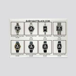 PIRATE WATCH CATALOG Rectangle Magnet