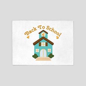 Back To School 5'x7'Area Rug