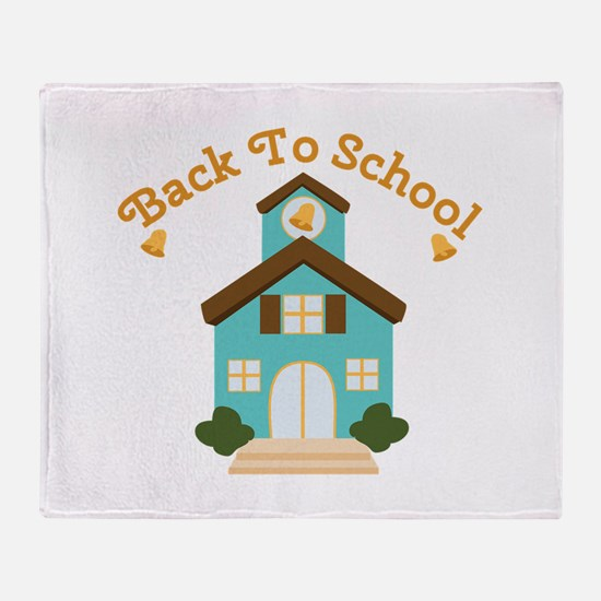 Back To School Throw Blanket