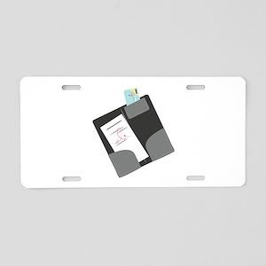 Dinner Check Aluminum License Plate