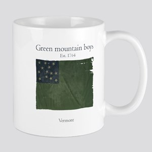 Green Mountain Boys Print Mugs
