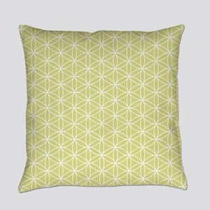 Flower Of Life Repeat Ptn Wl Everyday Pillow