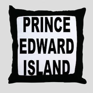 Prince Edward Island Throw Pillow