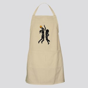 Distressed Basketball Players Apron
