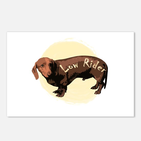 """""""The Low Rider""""  Postcards (Package of 8)"""