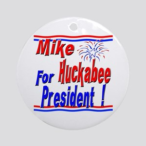 Huckabee for President Ornament (Round)