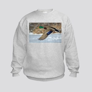 Mallard Duck Kids Sweatshirt