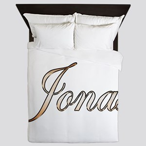 Gold Jonas Queen Duvet