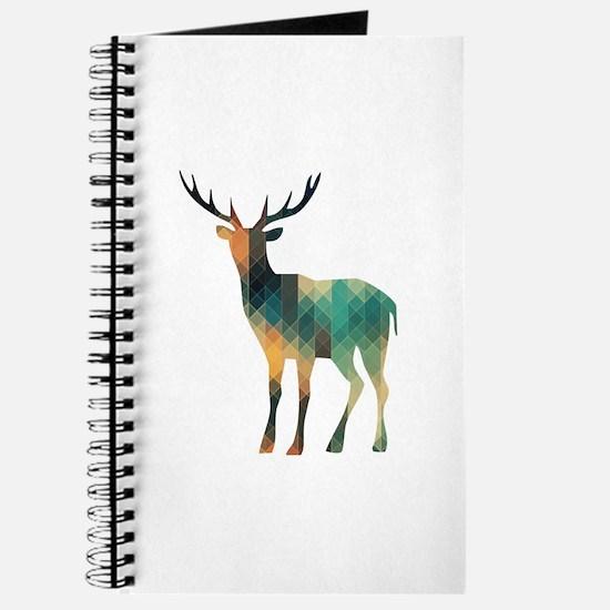 Geometric Deer Journal