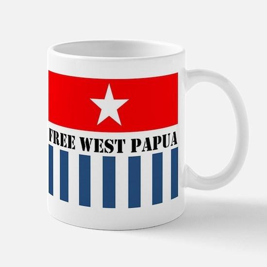Free West Papua Logo Mug