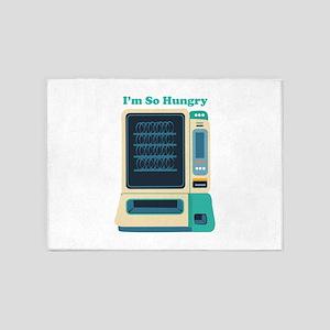 Im So Hungry 5'x7'Area Rug
