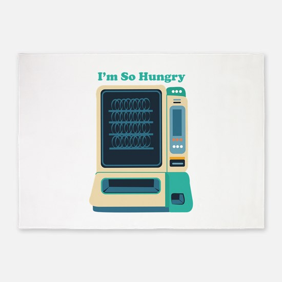 Im So Hungry 5'x7'Area Rug