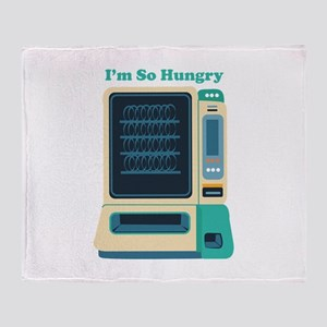 Im So Hungry Throw Blanket