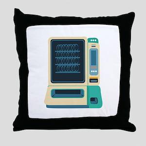 Vending Machine Throw Pillow