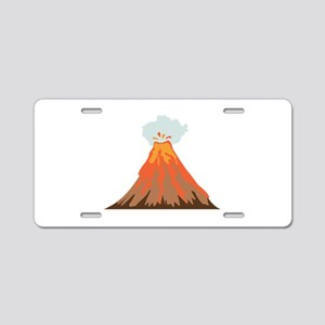 Volcano Aluminum License Plate