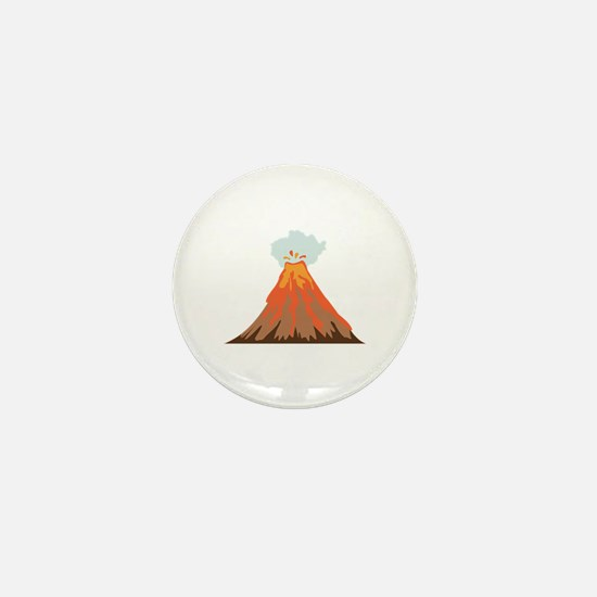 Volcano Mini Button