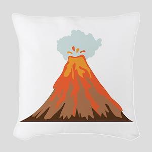 Volcano Woven Throw Pillow