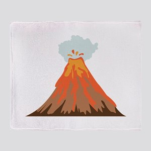 Volcano Throw Blanket