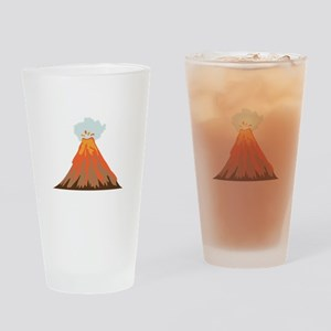 Volcano Drinking Glass