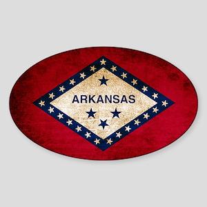 Vintage Flag of Arkansas Sticker