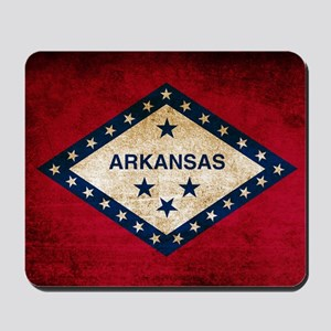 Vintage Flag of Arkansas Mousepad