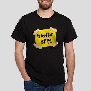 Hands Off! Sign Dark T-Shirt