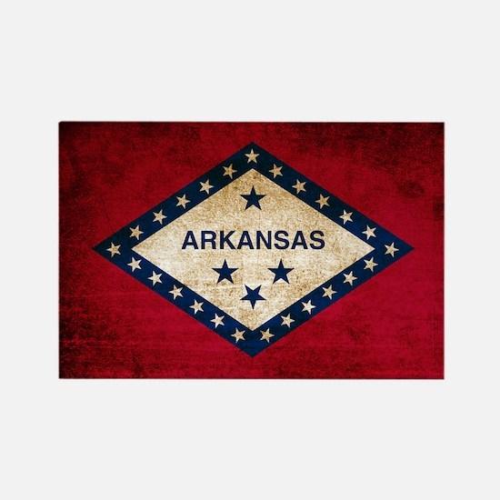 Vintage Flag of Arkansas Magnets