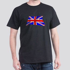 United Kingdom Flag (Distressed) T-Shirt
