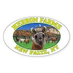 HF Wool Oval Sticker