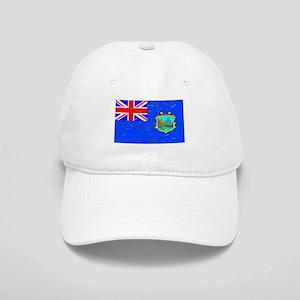 Old St Helena Flag (Distressed) Baseball Cap