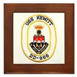 USS HEWITT Framed Tile