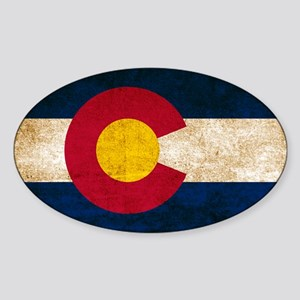 Vintage Flag of Colorado Sticker
