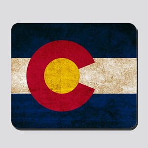 Vintage Flag of Colorado Mousepad