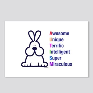 Autism 317 front Postcards (Package of 8)