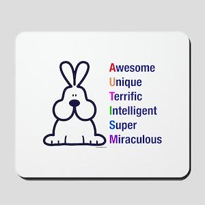 Autism 317 front Mousepad